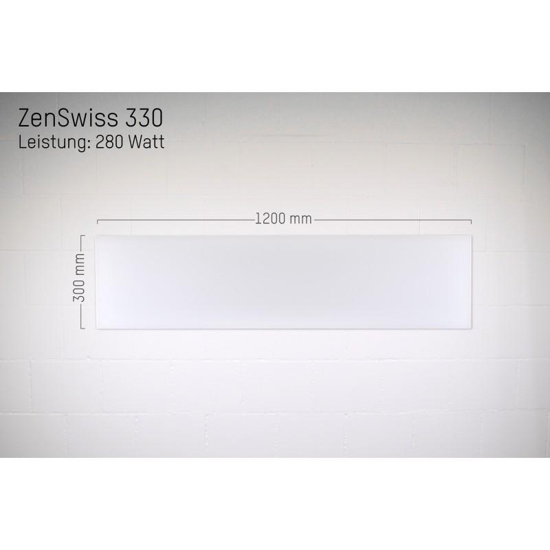ZenSwiss Infrarotheizung 30 X 120 Cm / 280 Watt
