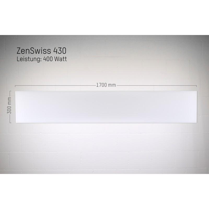 ZenSwiss Infrarotheizung 30 X 170 Cm / 400 Watt