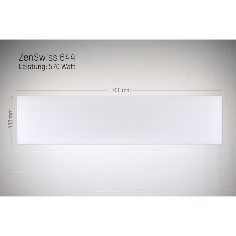 ZenSwiss Infrarotheizung 40 X 170 Cm / 570 Watt