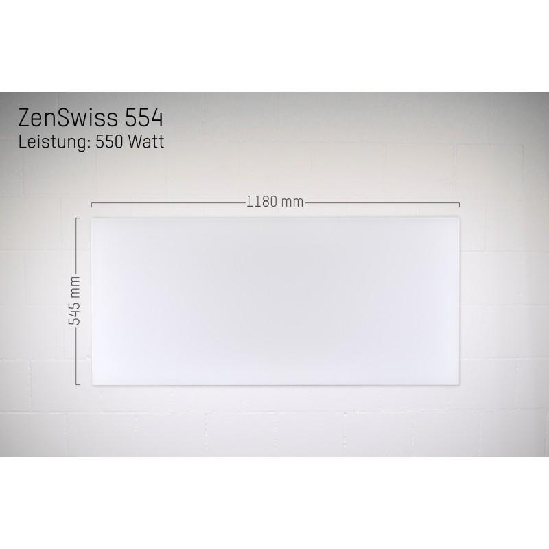 ZenSwiss Infrarotheizung 54 X 118 Cm / 550 Watt