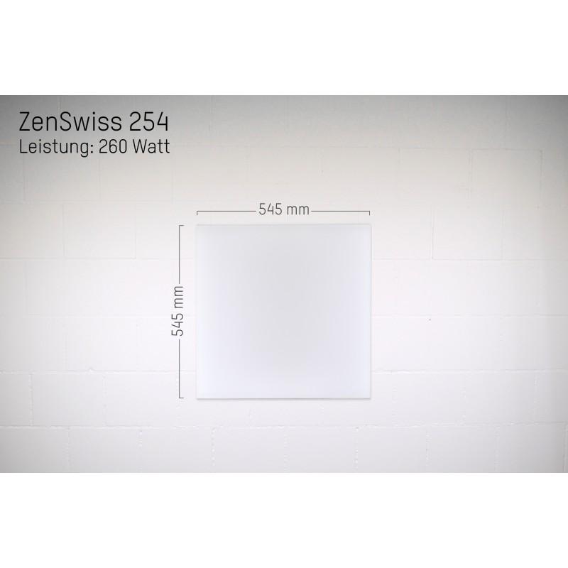 ZenSwiss Infrarotheizung 54 X 54 Cm / 260 Watt